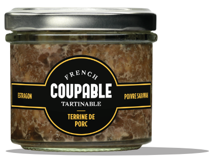 Coupable Tartinable Terrine de porc